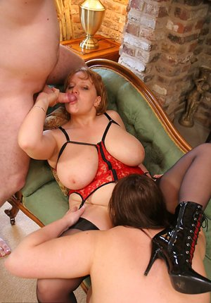 BBW Threesome Pictures